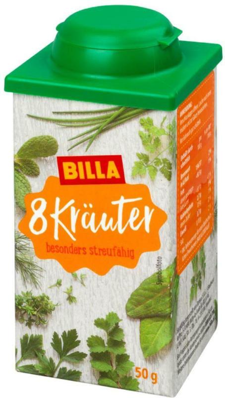 BILLA 8 Kräuter