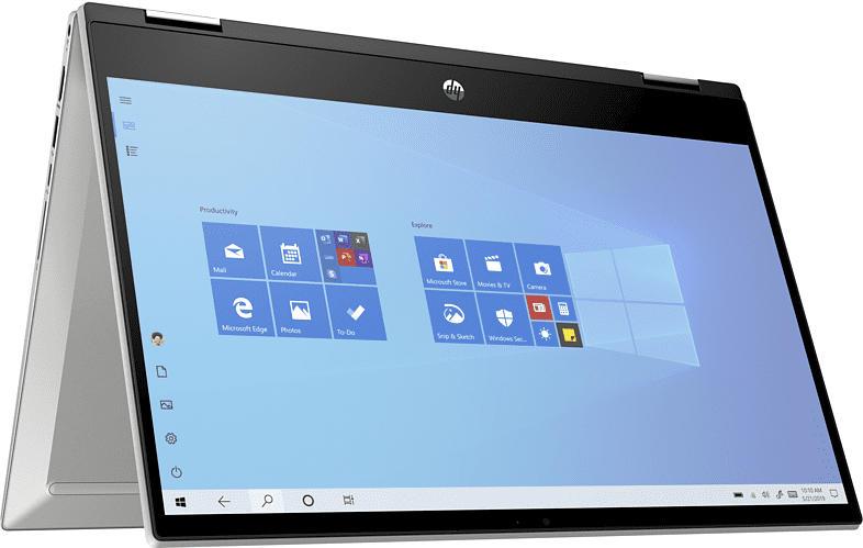 Convertible Pavilion x360 14-dw1177ng, i7-1165G7, 16GB RAM, 1TB SSD, 14 Zoll FHD Touch, Silber