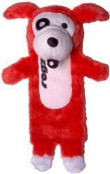 Rogz Thinz plush Toy 20cm rot