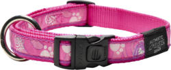 Rogz Halsband Beach Bum L 40-55cm Pink Paws