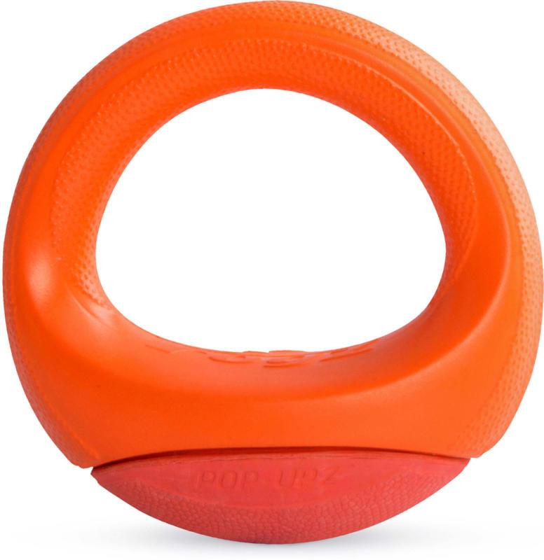 Rogz Pop Upz Hundespielzeug M, orange
