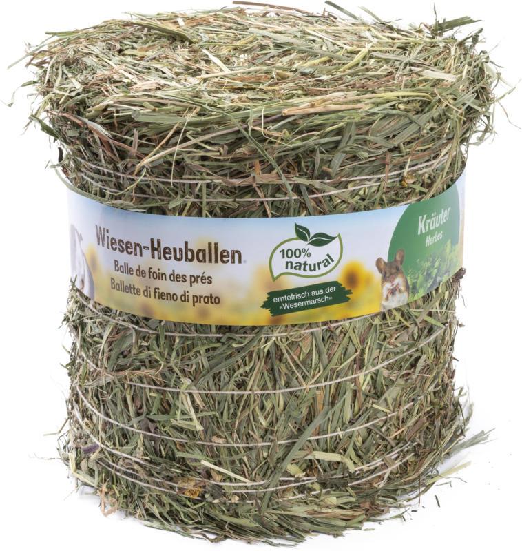 Happy Rancho Wiesen-Heuballen Käuter 500g