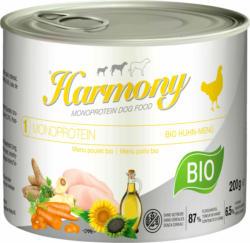 Harmony Dog Monoprotein Bio Huhn 12x200g