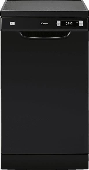 BOMANN GSP 7407  Geschirrspüler (unterbaufähig, 448 mm breit, 49 dB (A), A++)