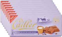 Tavoletta di cioccolata Cailler, Latte, 8 x 100 g