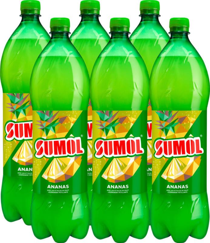 Bevanda all'ananas Sumol, 6 x 1,5 litri