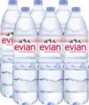 Denner Acqua minerale Evian, non gassata, 6 x 1,5 litri - al 26.04.2021