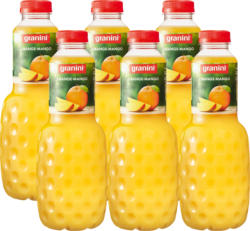 Nectar Orange-Mangue Granini, 6 x 1 litre