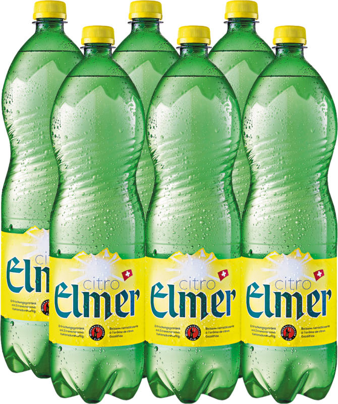 Elmer Citro, 6 x 1,5 Liter