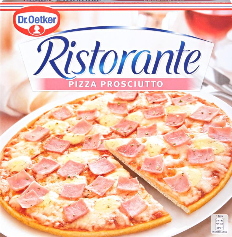Dr. Oetker Ristorante Pizza, Prosciutto, 330 g