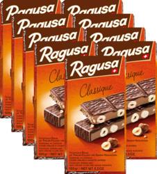 Tavoletta di cioccolata Ragusa Classique Camille Bloch, 9 x 100 g