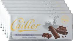 Tavoletta di cioccolata Cailler, Crémant, cioccolato fondente, 5 x 100 g