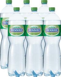 Henniez Mineralwasser Légère, mit wenig Kohlensäure, 6 x 1,5 Liter