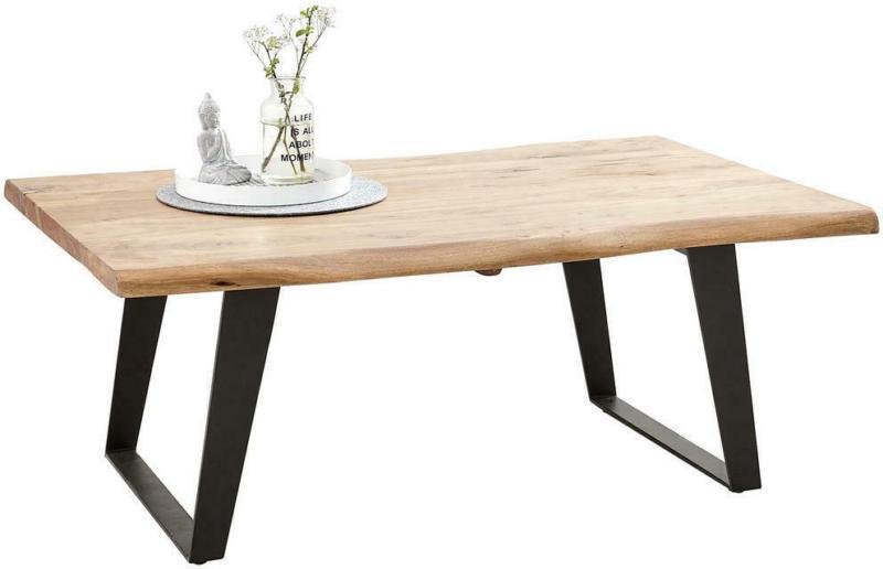 Couchtisch in Holz, Metall 115/70/45 cm