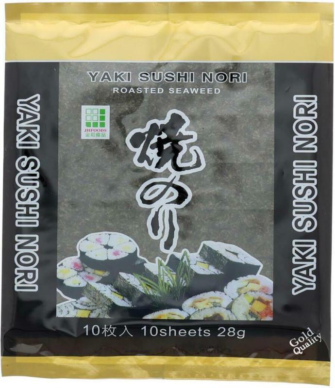 Yaki Nori Gerösteter Seetang für Sushi
