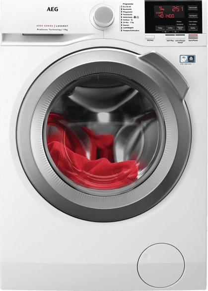 Waschmaschine, Weiß, 10kg, 1400 U/min.