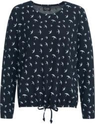 Damen Langarmshirt mit Schwalben-Allover (Nur online)