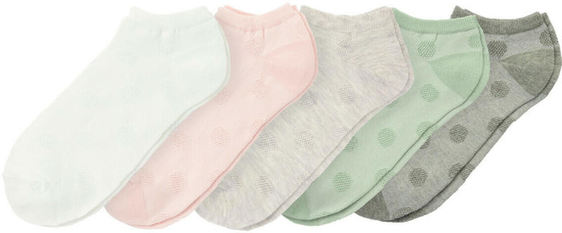 5 Paar Damen Sneaker-Socken im Set (Nur online)