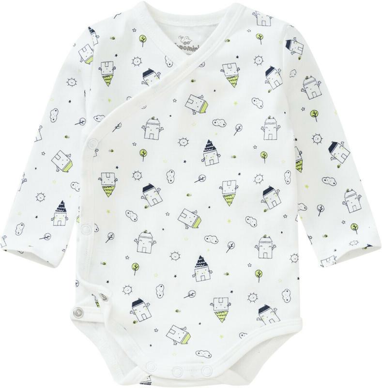 Baby Wickelbody mit Allover-Motiv (Nur online)