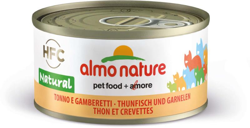 Almo Nature HFC Natural Thunfisch & Garnelen 70g