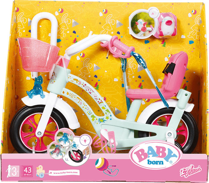 ZAPF CREATION BABY born Fahrrad Puppenzubehör, Mehrfarbig