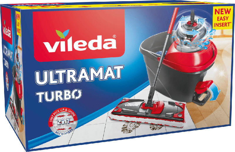 Vileda Wischsysteme Ultramat Turbo Komplettset
