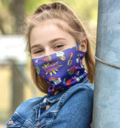 MUCKEL Stoffmaske für Kinder, Kinderloop