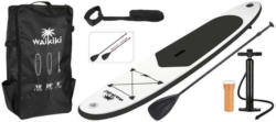 Stand-Up Paddle Board Sup Kunststoff, Schwarz/Weiß