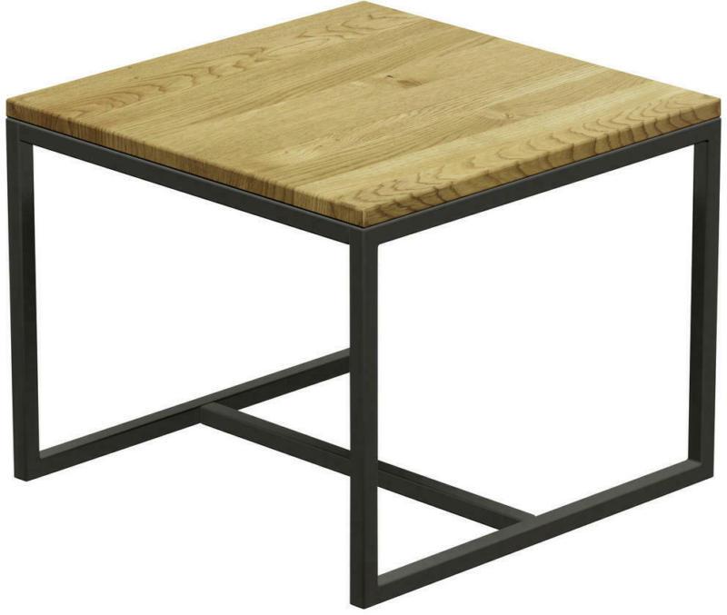 Couchtisch in Holz 50/50/40 cm
