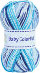 OTTO'S Gründl Garn Baby Colorful türkis/blau multicolor 100 g -