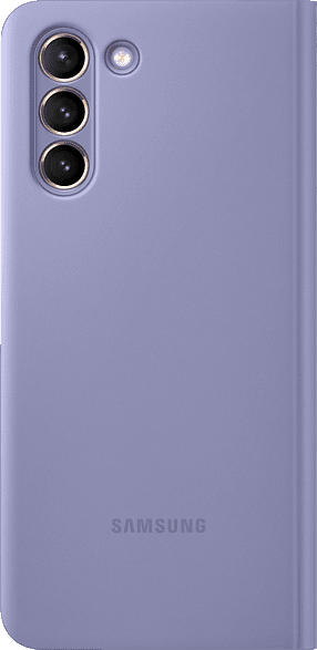 SAMSUNG EF-ZG991 , Bookcover, Samsung, Galaxy S21 5G, Polycarbonat, Polyurethan, Violett
