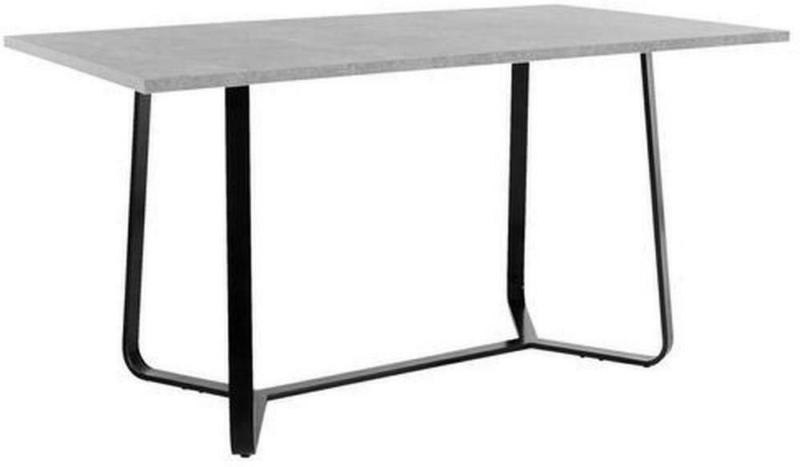 Esstisch Tilda L: 140 cm Grau