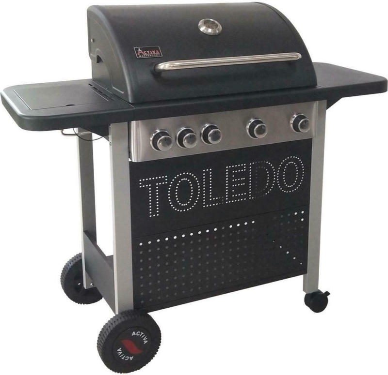 Gasgrill Toledo 500 4 Brenner 117,6x108x48,4 cm