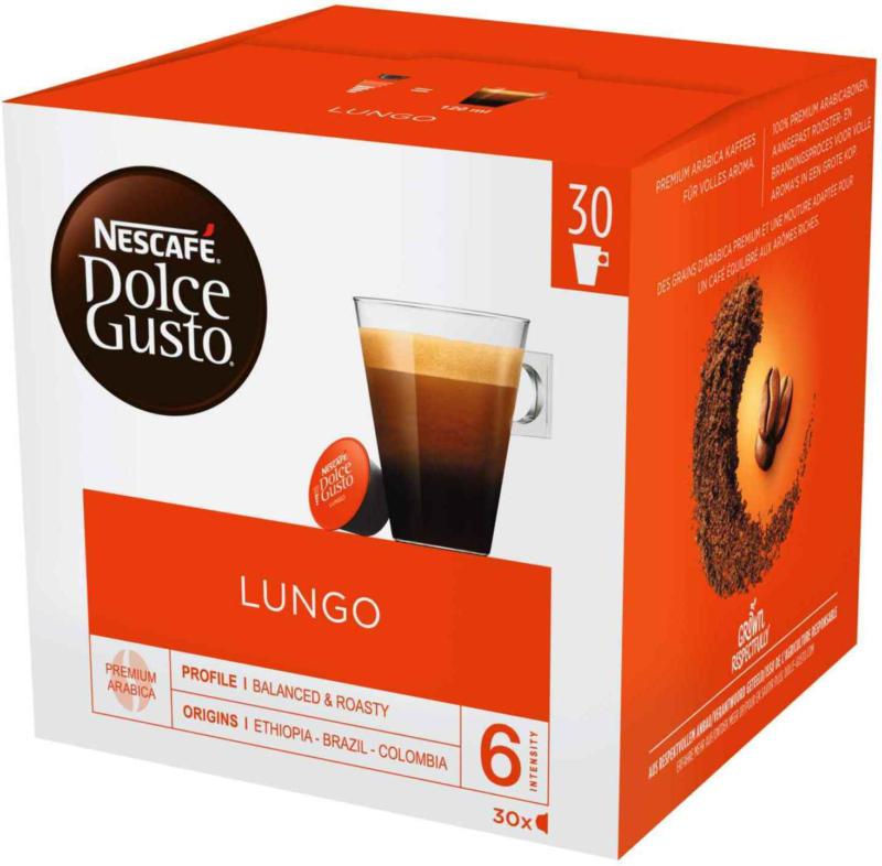 Nescafe Dolce Gusto Lungo 30 capsules -