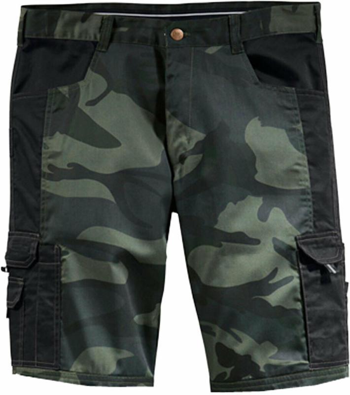 Bermuda, camouflage-schwarz, Gr.XXL