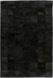 """Lederteppich """"Voila 100"""", schwarz 160x230 cm"""