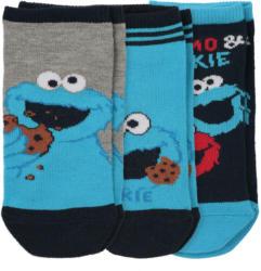 3 Paar Sesamstraße Sneaker-Socken im Set (Nur online)