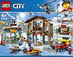 MediaMarkt LEGO Ski Resort Bausatz, Mehrfarbig