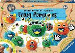 MediaMarkt RAVENSBURGER Be Creative Crazy Pompons Bastelset, Mehrfarbig