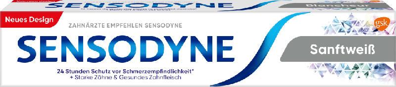 Sensodyne Zahnpasta sanftweiß für schmerzempfindliche Zähne