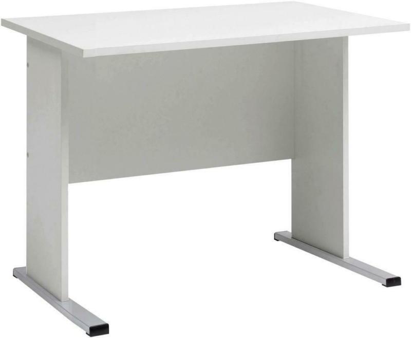 Schreibtisch B 90cm H 74,2cm Serie 200, Lichtgrau