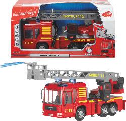 DICKIE TOYS Fire Hero Spielzeugauto, Rot