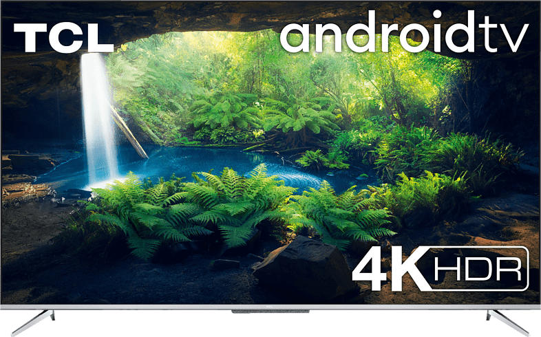 TCL 43P718 LED TV (Flat, 43 Zoll/108 cm, UHD 4K, SMART TV, AndroidTV 9.0)
