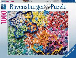 RAVENSBURGER Viele bunte Puzzleteile Puzzle, Mehrfarbig