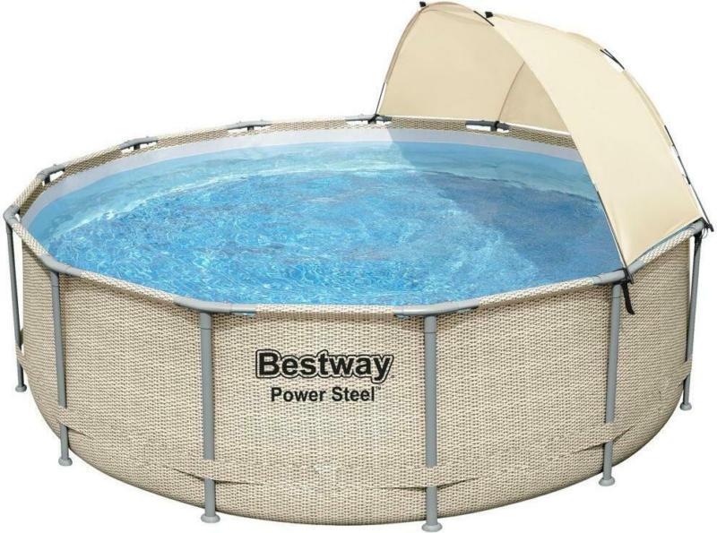 Swimming Pool Power Steel Ø  396 X H 107 cm