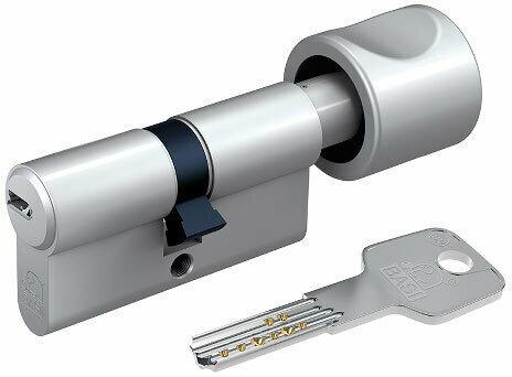 Profil-Knaufzylinder, K30x40mm, Gleichschließung Nr.40
