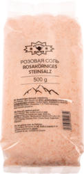 Rosakörniges Steinsalz, mittelkörnig