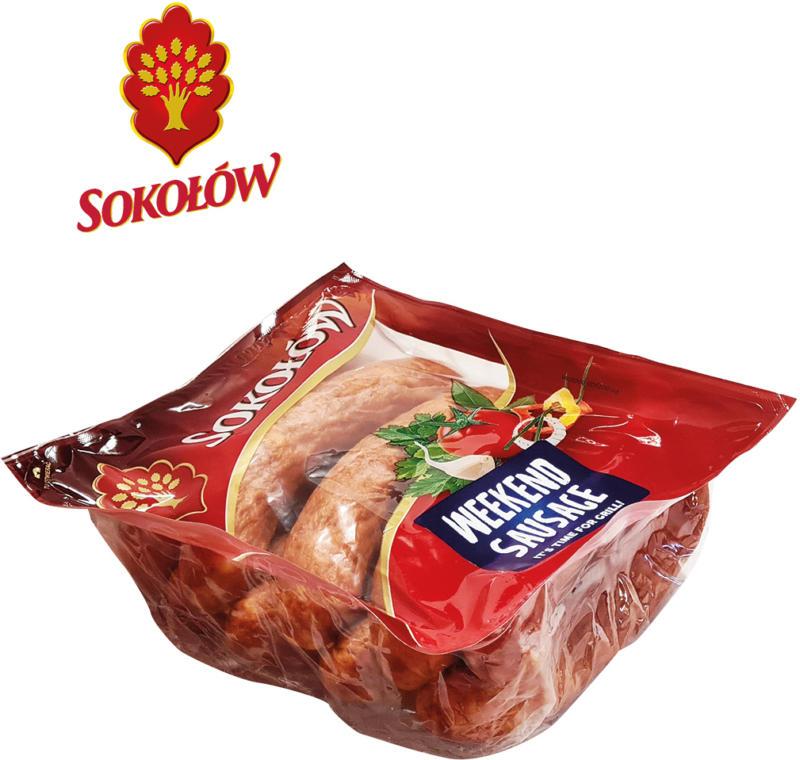 Schweine- und Rindfleischwurst