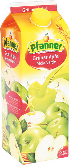 Grüner Apfelsaft - Pfanner