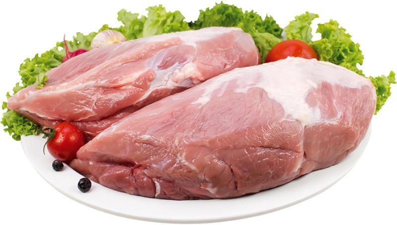 Schweinebraten aus der Schulter ohne Knochen